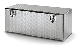 Bawer L1450 x H500 x D500mm Stainless Steel toolbox - Flowered Finish with S/S Locks