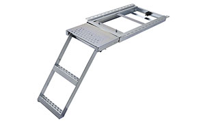 Galvanised Platform Access Ladders