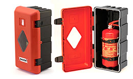 Fire Extinguisher Boxes & Fire Extinguishers